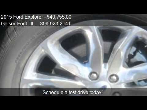2015 Ford Explorer XLT 4x4 4dr SUV for sale in Roanoke, IL 6