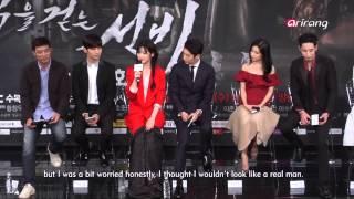 Video Showbiz Korea-PRESS CONFERENCE OF SCHOLAR WHO WALKS THE NIGHT MP3, 3GP, MP4, WEBM, AVI, FLV Oktober 2018