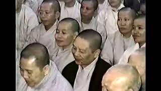 Buổi nói chuyện của  Sư Ông kỷ niệm Thiền viện Trúc Lâm 7 tuổi