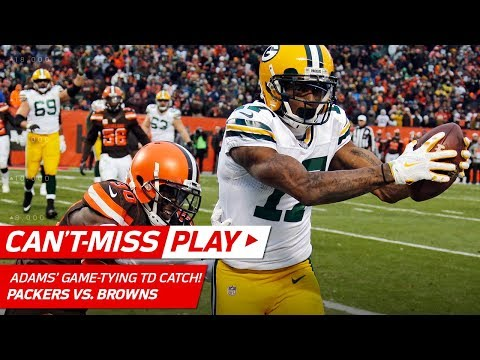 Video: Crazy Punt Return Sets Up Hundley's Game-Tying TD Toss to Adams! | Can't-Miss Play | NFL Wk 14