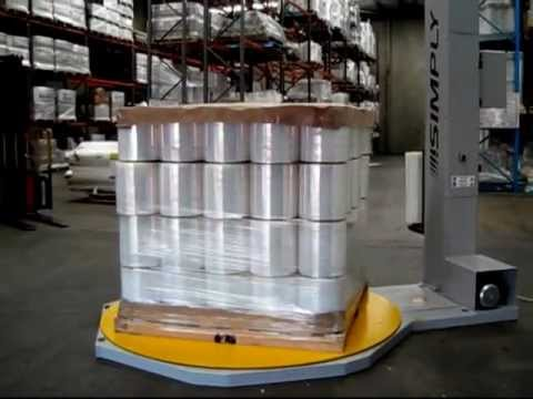 "Semi Automatic Pallet Wrapping Machine | PKG ""Simply"""