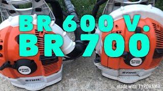 1. STIHL BR 600 v. STIHL BR 700 [Blower Comparison] (2018)