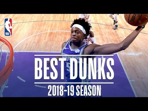 Video: De'Aaron Fox's Best Dunks   2018-2019 NBA Season   #NBADunkWeek