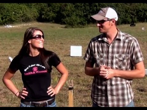 Brandon401401 - We all had a great time at the IV8888 shoot. Kirsti wanted to see if she could split a playing card with a .22lr pistol. She truly is an amazing shot... a lo...