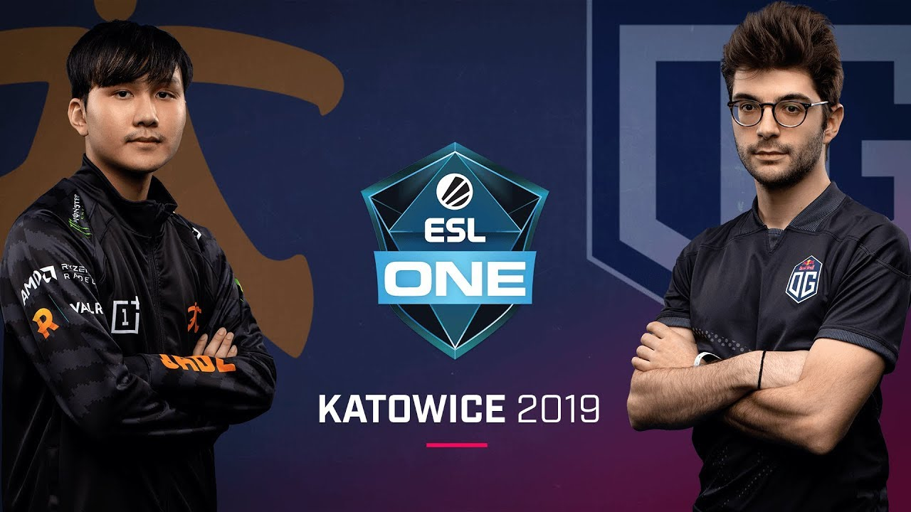 Dota 2 - Fnatic vs. OG - Game 1 - LB Ro2a - ESL One Katowice 2019 - YouTube