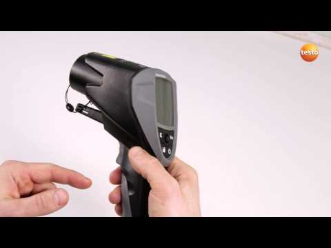 Professional Infrared Thermometer testo 835 - Step 1 - How t