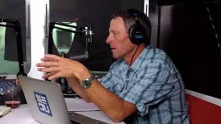 Lance Armstrong and JB Hager talk about the new event, the weather and some racing.