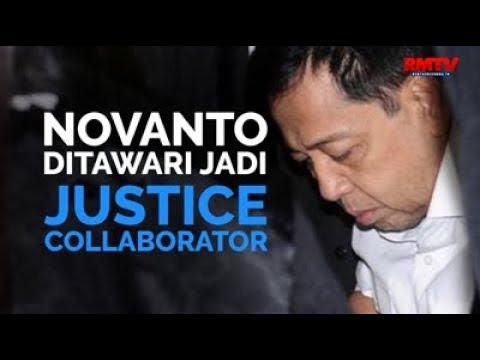 Novanto Ditawari Jadi Justice Collaborator