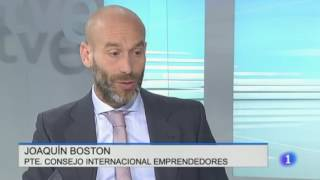 Interview RTVE Joaquín Boston GYLF