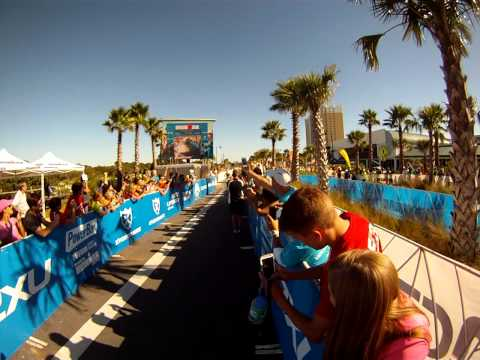 IM Florida Finish line video