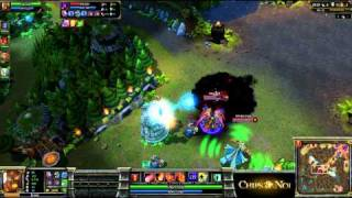 (HD104) -CHZ League- Oo vs TRI -Part 2- League Of Legends Replay [FR]