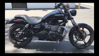 10. Triumph Speedmaster British Customs Exhaust Upgrade