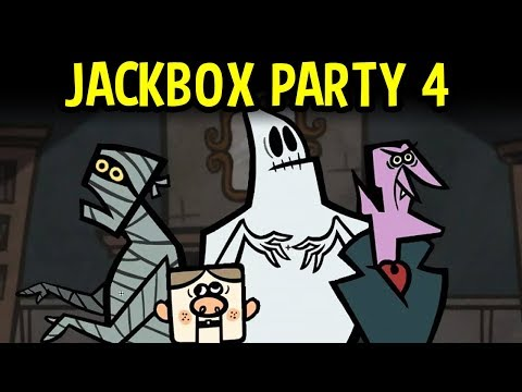 Jackbox Party Pack 4 IS HERE! - Viewer Games! Come Play Games with SwingPoynt!