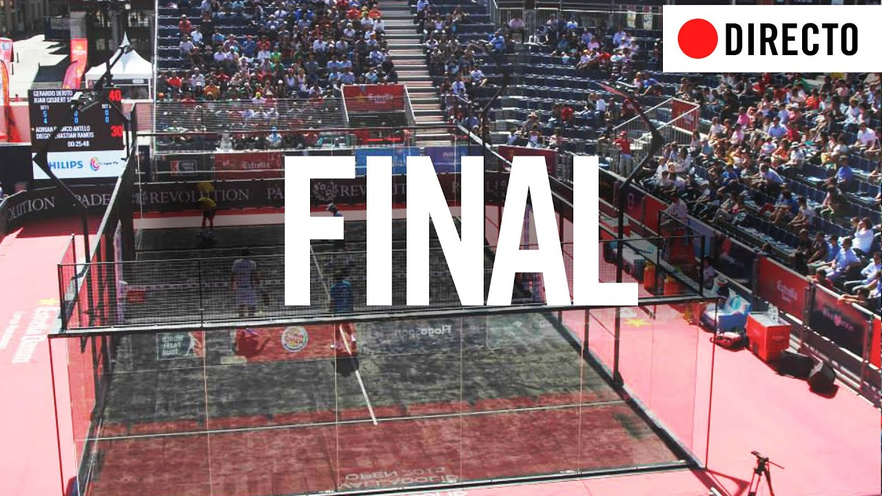 FINAL Estrella Damm Valladolid Open | World Padel Tour (2015)