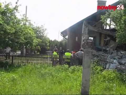 Potężna eksplozja zniszczyła dziś rano dom jednorodzinny w Pustyni koło Dębicy. W wypadku ucierpiała jedna osoba.