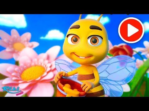 Мультик Жу-Жу - Песенка Пчелки 🐝 My Little Bee Song - LooLoo Kids (видео)