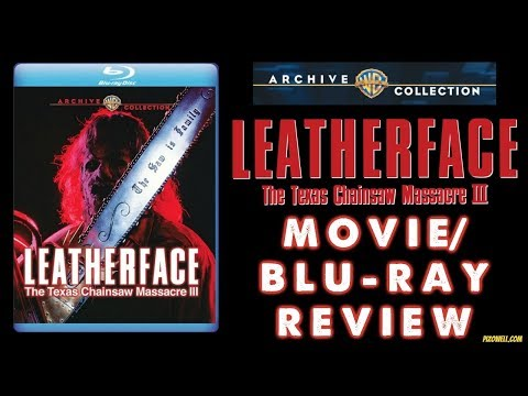 LEATHERFACE: THE TEXAS CHAINSAW MASSACRE 3 (1990) - Movie/Blu-ray Review