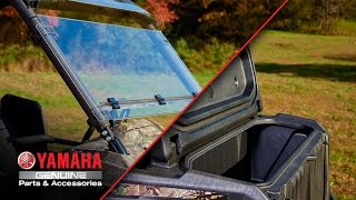 6. Yamaha Wolverine Genuine Comfort and Convenience Accessories