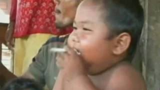2 Year Old Smoking 40 Cigarettes a Day