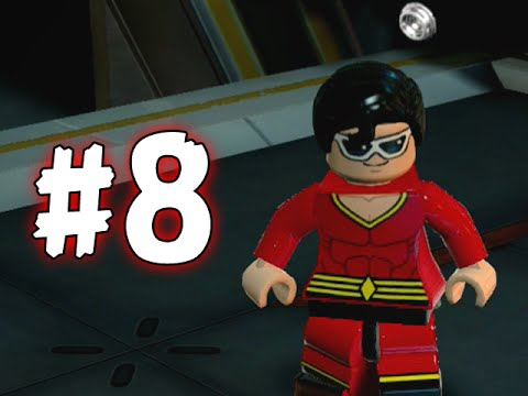 LEGO BATMAN 3 - BEYOND GOTHAM - PART 8 - THE LANTERN MENACE! (HD)