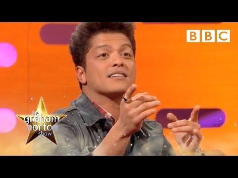 Bruno Mars Sings 'Forget You' with the audience | The Graham Norton Show - BBC