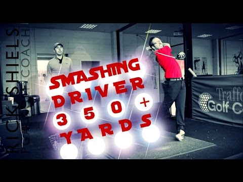 SMASHING DRIVER 350+ YARDS WITH PETER FINCH!