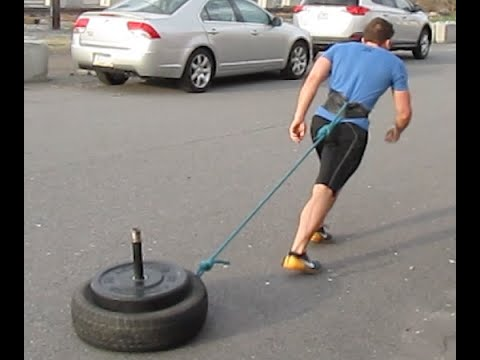 DIY Weighted Sled for Strength & CrossFit Workout