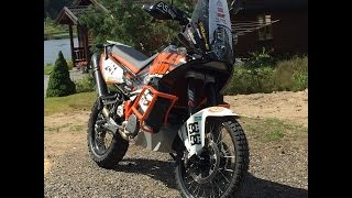 8. KTM 990 Adv R and KTM 950, gravel and offroad.