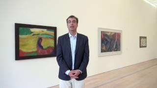 Kandinsky, Marc & Der Blaue Reiter: Einführung durch Kurator Ulf Küster