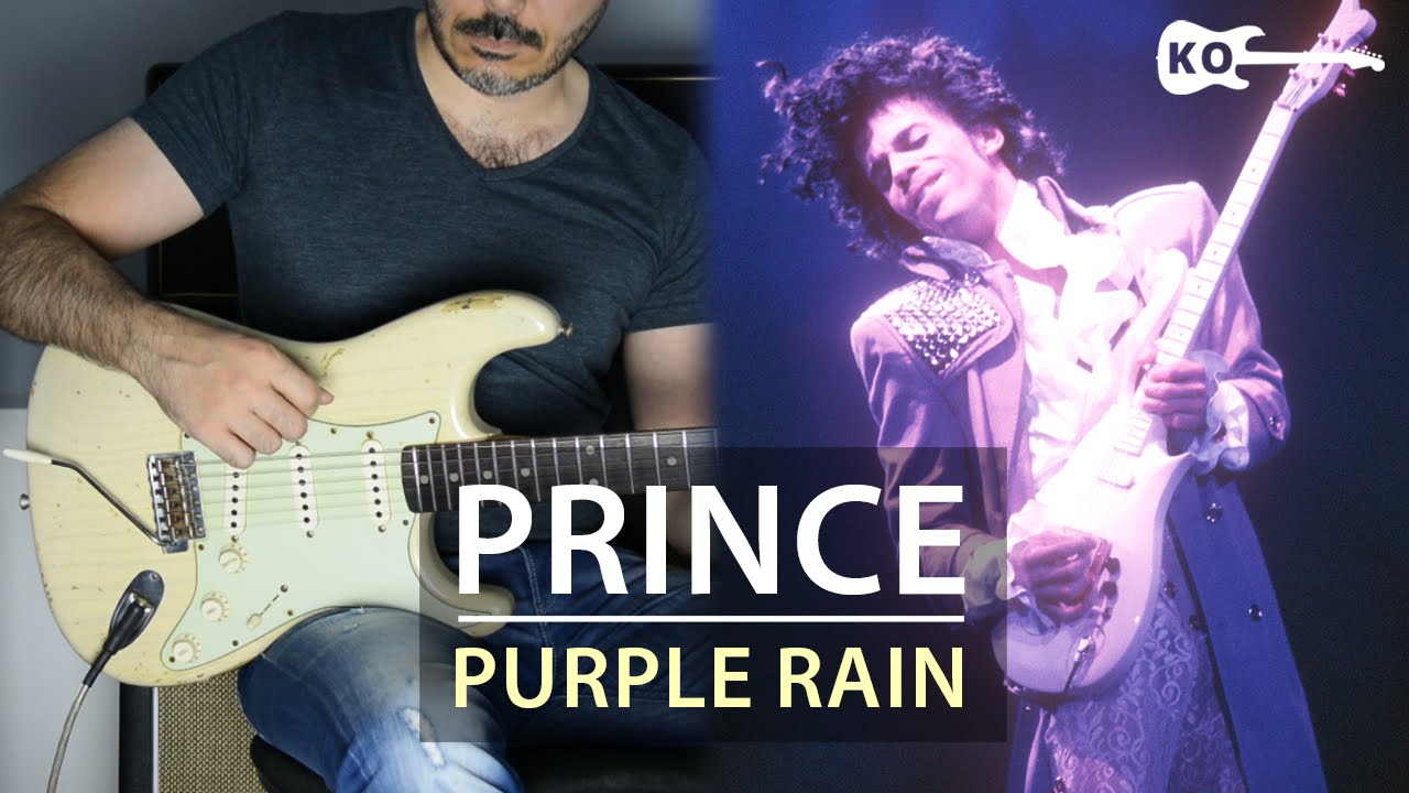 Prince – Purple Rain – Electric Guitar Cover by Kfir Ochaion