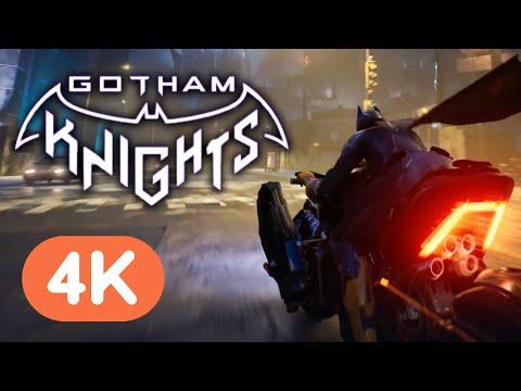 7 Minutes of Gotham Knights Gameplay (4K)   DC Fandome
