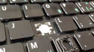 Video How to remove and replace a key on Acer Aspire laptop keyboard. MP3, 3GP, MP4, WEBM, AVI, FLV November 2018