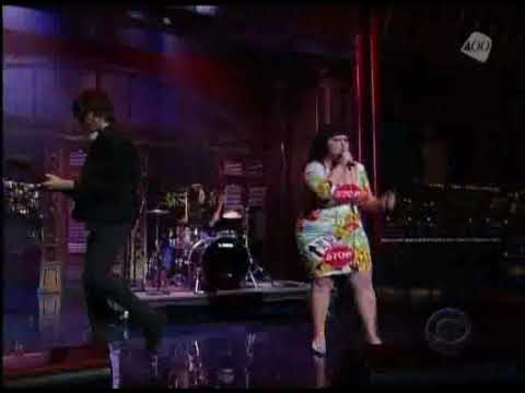 gossip - Late Show with David Letterman. Gossip - 'Standing in the Way of Control' (April 16, 2008)