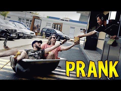VANOU DO MCDRIVE - PRANK! w/MikeJePan