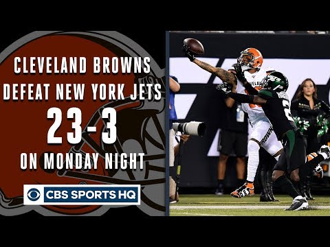 Video: Browns, Odell Beckham Jr. dominate Jets on Monday Night Football | CBS Sports HQ