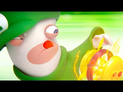 Mario + Rabbids Kingdom Battle Official Rabbid Luigi Character Spotlight Trailer