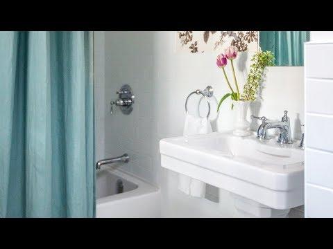 Small Bathroom Makeover: Where To Save & Splurge