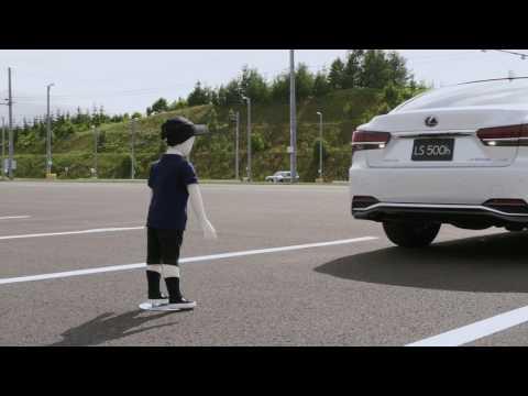 Lexus LS Back Support Brake