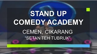 "Video ""Setan Teh Tubruk"" - Cemen, Cikarang (Peserta Grand Final Stand Up Comedy Academy) MP3, 3GP, MP4, WEBM, AVI, FLV Juni 2019"