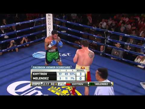 Ievgen Khytrov vs. Jorge Melendez