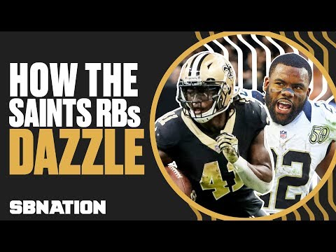 Video: How the Saints' Alvin Kamara and Mark Ingram dissect defenses | Xs & Os w/ Geoff Schwartz, Ep. 6