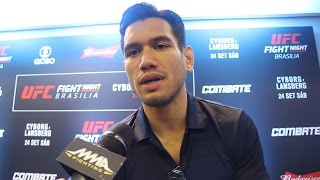 Phillippe Nover Talks About Dealing With Great Early Expectations by MMA Fighting