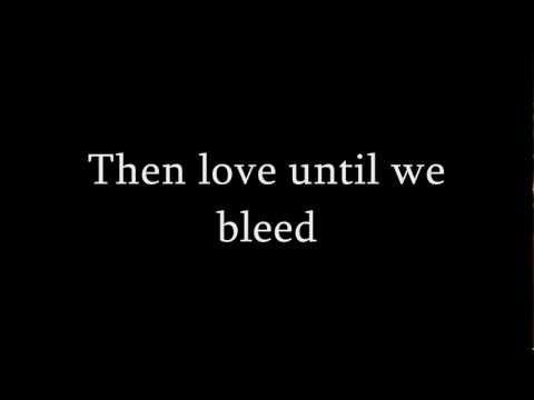 Lykke Li - Until We Bleed (Original version) Lyrics (HD) (видео)