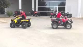 10. Polaris 500 vs Honda Foreman ES