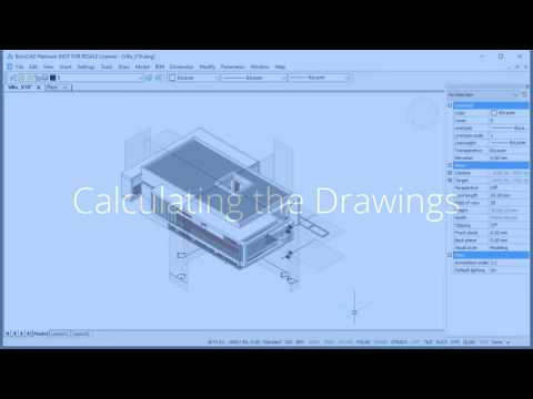 Plans, Sections and Elevations in BricsCAD BIM HD, 720p