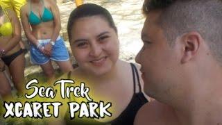 Nuestra caminata submarina, en el parque de Xcaret, en la Riviera Maya. Cancun / Mexico.Acción Bíblica: https://www.facebook.com/AccionBlica/Facebook: https://www.facebook.com/sebastian.pe...Instagram: https://www.instagram.com/sebaspelaez93/