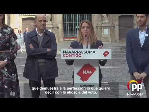 Amelia Salanueva (Navarra Suma): la importancia de...
