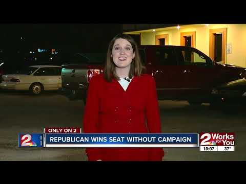 Republican wins seat without campaign