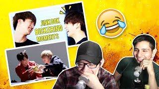 Video GUYS REACT TO BTS 'JIN & JUNGKOOK BICKERING MOMENTS (JINKOOK)' MP3, 3GP, MP4, WEBM, AVI, FLV Agustus 2018