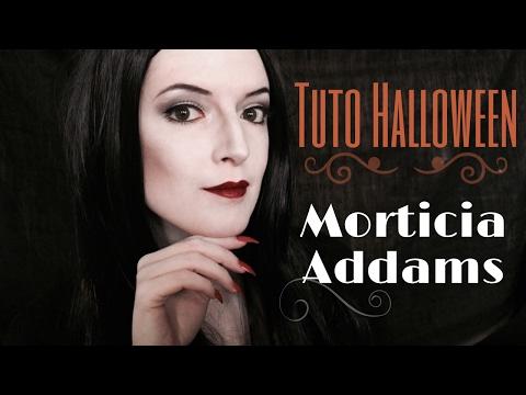 Tuto Halloween : MORTICIA ADDAMS
